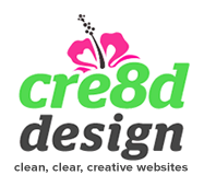cre8d design - clean, clear, creative websites